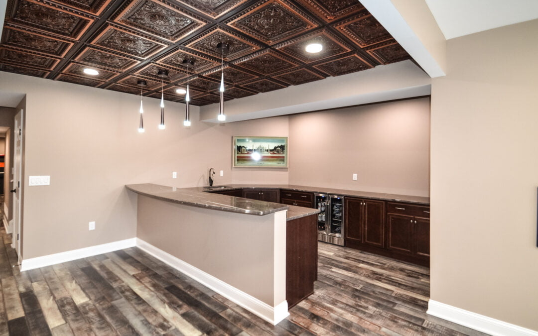 French-Accent Wet Bar